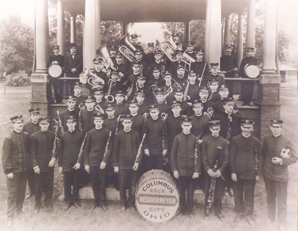 1909 Neddermeyer Band - click to enlarge
