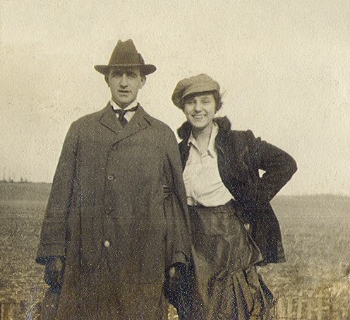 Karl and Ruth before their marriage