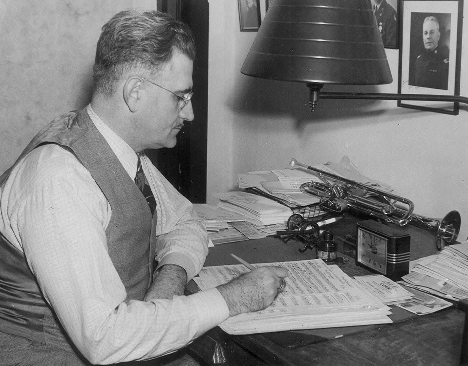 Karl King at His Composing