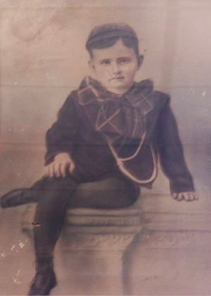 Karl at age 4 - photo from the Fort Dodge Fort Museum